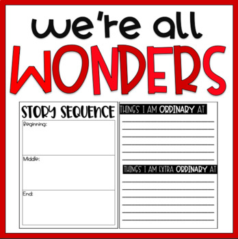We're All Wonders / Read-Aloud Book Companion
