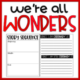 We're All Wonders | Book Project