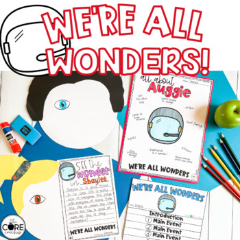 We're All Wonders Interactive Read-Aloud Lesson Plans and Activities