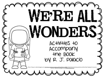 We're All Wonders Resource Packet