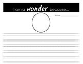 We're All Wonders Writing Prompt