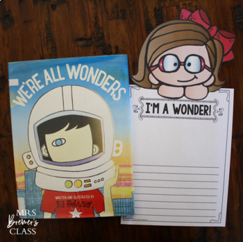 We Re All Wonders An R J Palacio Book Study By Anita