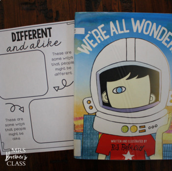 We're All Wonders {an R.J. Palacio book study}