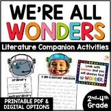 We're All Wonders by R.J. Palacio Literature Unit