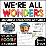 We're All Wonders Activities by R. J. Palacio
