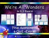 We're All Wonders by R.J. Palacio Picture Book Assessments