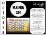 We're Bats For Books October Bulletin Board