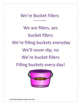 We're Bucket Fillers