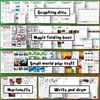 We're Going on a Bear Hunt - Activity Pack - Worksheets, Crafts, Games, Cards