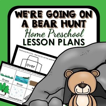 We're Going on a Bear Hunt Home Preschool Lesson Plans