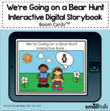 We're Going on a Bear Hunt Interactive Digital BOOM CARDS™ Deck