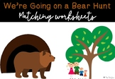 We're Going on a Bear Hunt Sequencing Activities