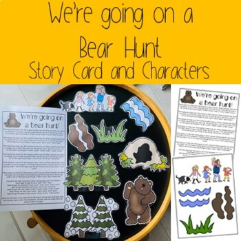 We're Going on a Bear Hunt- Story Card and Characters