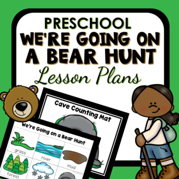 We're Going on a Bear Hunt Theme Preschool Classroom Lesson Plans