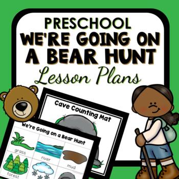 We're Going on a Bear Hunt Theme Preschool Lesson Plans