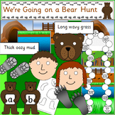 We're Going on a Bear Hunt book study activity pack