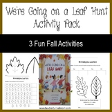We're Going on a Leaf Hunt Activity Pack(Lower Elementary