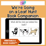 We're Going on a Leaf Hunt Book Companion | Speech Therapy