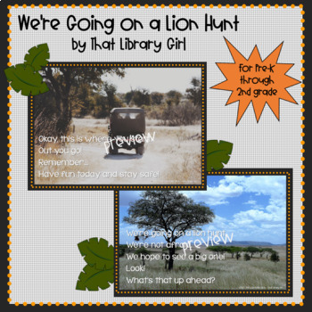 We're Going on a Lion Hunt! Library Game