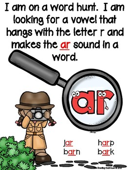 We're Going on a Word Hunt - R Controlled Vowels