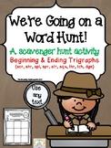 Trigraphs Scavenger Hunt Activity  - 3 Letter Blends