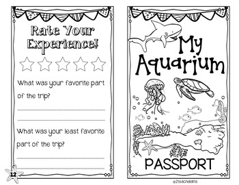 We're Going to the Aquarium-Forms and More!