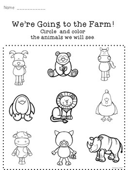 We're Going to the Farm - a Farm Unit