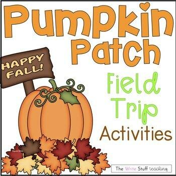 Pumpkin Patch Writing Activities