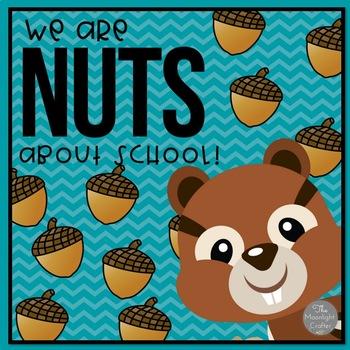 We're Nuts About School! Bulletin Board Set