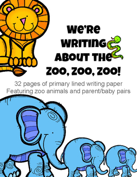 We're Writing About the Zoo, Zoo, Zoo!