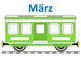 We're learning German - Birthday Calendar - Train