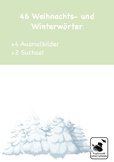 We're learning german - Winter Christmas Flash Cards