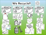 We recycle!! Activity and Center