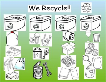 WE RECYCLE !! Activity and Center