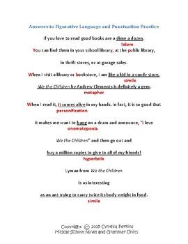 We the Children - Clements - Complete Literature and Grammar Unit