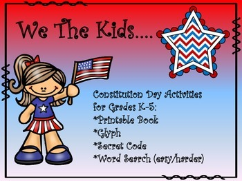We the Kids...An Activity Pack For Constitution Day