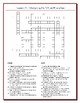 We the People Lesson 11 Worksheet Puzzles: Constitutional Compromises