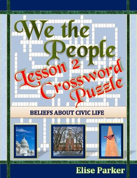 We the People Lesson 2 Worksheet Puzzles: Beliefs About Civic Life