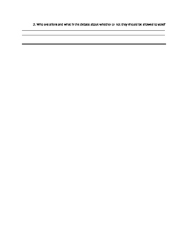 We the People Lesson 33 Guided Reading Worksheet