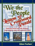 We the People Lesson 37 Worksheet Puzzle: Future Challenges for the U.S.