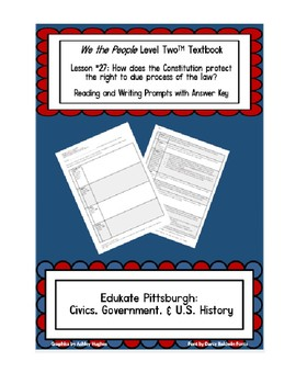 We the People Level 2 Text Book Lesson 27