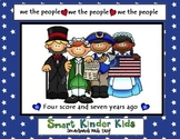 We the People - Presidents' Day Smartboard
