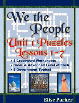 We the People Puzzles -- Unit 1 Bundle