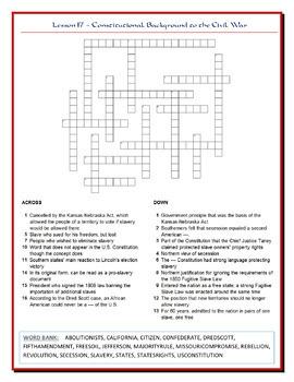 We the People Puzzles -- Unit 3 Bundle