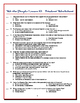 We the People: The Citizen and the Constitution Lesson 10 Worksheet / Test