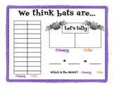 We think bats are...  Math Graph & Tally Data Summary