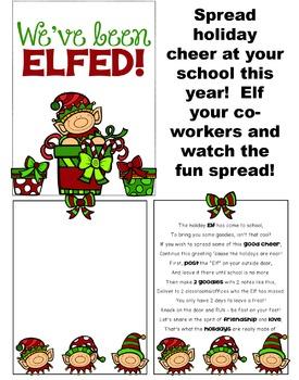 We've Been Elfed at SCHOOL!