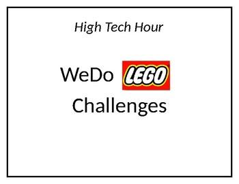 WeDO Lego Robot Unit Packet
