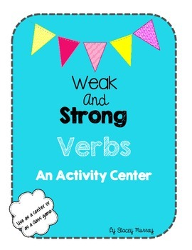 Weak and Strong Verb Center