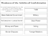Weakness of the Articles of Confederation Interactive Notes